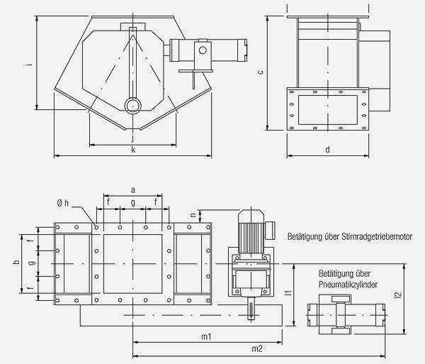 Technischer Aufbau von Schaltverteilern