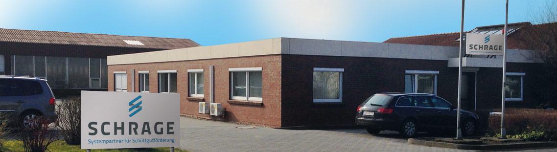 Außenbild der Schrage GmbH Anlagenbau Geschäftsstelle in Sande