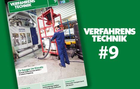 Cover der Zeitschrift Verfahrenstechnik 09 2016
